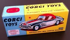 Corgi 304S Mercedes 300 SL Hardtop Empty Repro Box Only