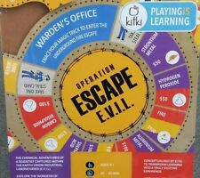 Kitki ESCAPE EVIL Fun Educational Board Games STEM Toys On SCIENCE For Kids 8-10