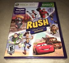 Kinect Rush: A Disney Pixar Adventure Cars Toy Story (Microsoft Xbox 360, 2012)