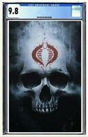 Snake Eyes #1 CGC 9.8 GRADED Jay Ferguson Cobra Skull Virgin Variant Pre-Order