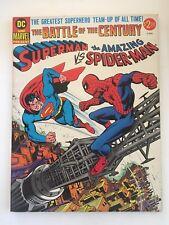 DC & MARVEL TREASURY SUPERMAN VS SPIDERMAN, BATTLE OF THE CENTURY,1978, M- ! 9.9