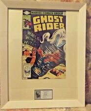 Framed Marvel Comics  GHOST RIDER   # 66  VOLUME 1  1982