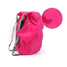 Rose Red Backpak multipurpose Foldable Fashion Women travel outdoor sport