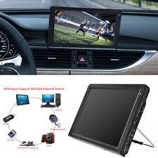 12 inch Color TFT-LED Portable Digital TV Player 16: 9 Car Travel Entertainment