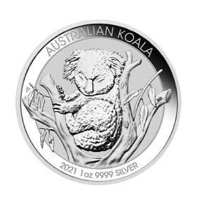 Koala Silber 2021 1 OZ Silver Argent Australien Australia Australie