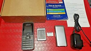 Samsung Black on Silver Prepaid TracFone Mobile GSM Cellular Phone SGH-S125G