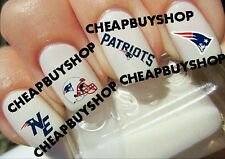 Super Bowl LI《NEW ENGLAND PATRIOTS》TOM BRADY》FOOTBALL LOGOS》Tattoo Nail Decals