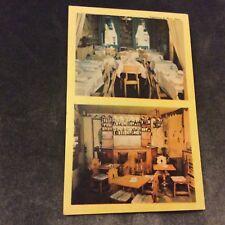 Vintage Postcard - Hapsburg House Restaurant, New York - Unused