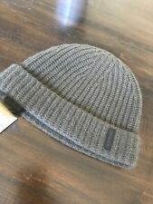 burberry Fishermans Beanie Green Cashmere Olive Green NWT
