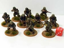 28mm Bolt Action Chain Of Command German Panzergrenadiers Painted 10 Figures R3