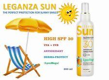 LEGANZA SUN Sun Protection Body Spray-Emulsion SPF30, ANTIOXIDANT, DERMA-PROTECT