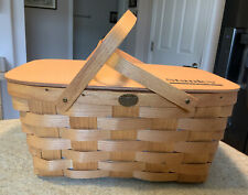 Stanley Furniture 25 Year Club Collectable Peterboro Picnic Basket
