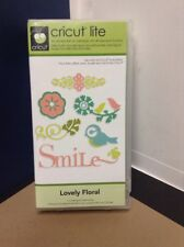 Cricut Cartridge - Lovely Floral - Gently Used - Complete