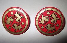 27251 Escudo redondo gladiador 2u playmobil,shield,medieval,scudo,gladiator