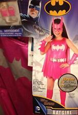 NEW BATGIRLl Kid's Halloween Costume Size Small 4-6