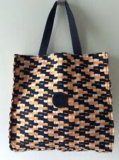 KIPLING ladies black and orange lunchbag