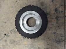 Rubber Grooved/Serrated Contact wheel 125x40x40mm