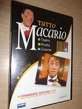 DVD TUTTO MACARIO LA RIVISTA CHIAMATE ARTURO 777