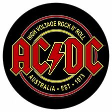 AC/DC - Rückenaufnäher Backpatch - High Voltage Rock´n Roll Australia Est. 1973