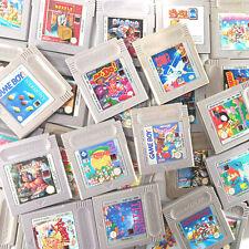 GameBoy Original Nintendo Video Game Carts Mario Tetris Parodius Dracula Xenon 2