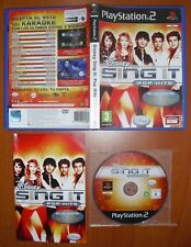 Disney Sing It: Pop Hits, SingStar, PlayStation 2 PS2 PStwo, Pal-España