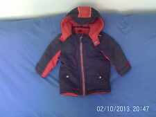 mothercare Boys' Casual Coats, Jackets & Snowsuits (2-16 Years) with Hooded