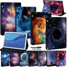 Para Huawei MediaPad T3 8.0/T3 10/T5 10 Tableta De Cuero De pie Cubierta Estuche Rígido