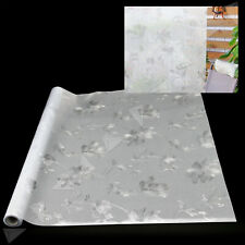 60X200Cm Frosted Flower Glass Window Film Cover Privacy Bathroom Home Covering