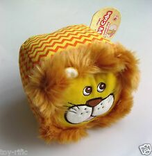 SOFT SQUIDGY ACTIVITY CUBE BY FIESTA CRAFTS - LION - AGE: FROM BIRTH - NEW!