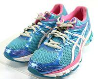 Asics GT-1000 3 $110 Women's Running Shoes Size 8 Blue Pink