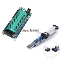 AVR ATMEGA16 Minimum System Board ATmega32 + USB ISP USBasp Programmer For ATMEL