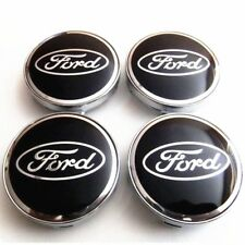 60MM Ford Wheel Center Hub Caps Emblem Badge Decals Rim Cap 4PCS