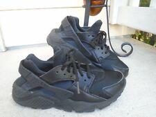 Womens Nike Air Huarache black running sneakers sz 8.5