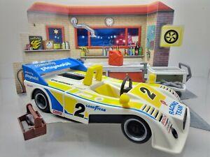 Playmobil System 3738 CAN AM Racing Rennwagen Bolide Klicky 1979 vintage alt !!!