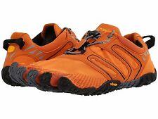Vibram FIVEFINGERS Mens V-Trail Orange Hiking Sport Shoes Size 45 NEW