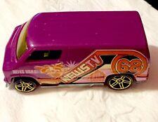 🏁 Hot Wheels Custom '77 Dodge Van - 68 News TV Van 🏁
