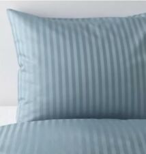 Ikea Nattijasmin Double Duvet Set, 200x200 cm, 2 Pillowcases, Blue Striped BNWT