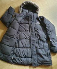 The North Face RRP £ 399 McMurdo Parka Abrigo de plumas de ganso Puffa Con Capucha HyVent S