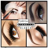 Multi Pack Eyebrow Stencil Kit 3 Stencil Eye Brow Liner Style Shaping Template