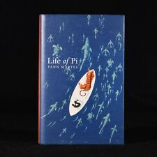 2002 Life of Pi by Yann Martel First UK Edition First Impression Signed Dustwrap