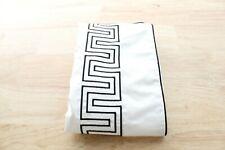 Hotel Collection Standard Sham Greek Key Cotton Black B99371