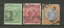 Nederlands Indië  28 - 30 gebruikt