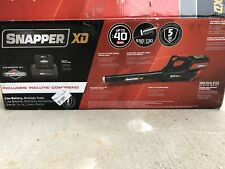 Snapper Xd 82V Max 550 Cfm Cordless Leaf Blower without Battery and Charger New