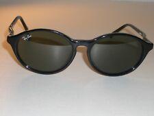 VINTAGE B&L RAY-BAN W1945 SLEEK GLOSSY BLACK G15 TRADITIONAL CATS SUNGLASSES NEW