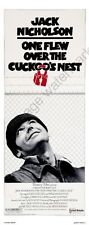 One Flew Over The Cuckoos Nest Movie Poster Insert 14inx36in Replica