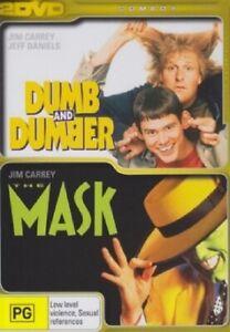 Dumb & Dumber + The Mask   DVD Region 4 (PAL) (Australia)   Free Post