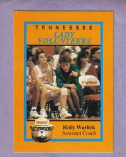 RARE Holly Warlick UT Lady Vols Team Issued Card 1993-94 Season NCAA