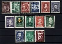 P126417/ AUSTRIA – 1950 / 1952 MINT MNH SEMI MODERN LOT – CV 220 $