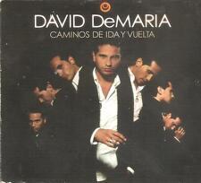 DAVID DEMARIA - CAMINOS DE IDA Y VUELTA CD ALBUM + DVD 2006 GOOD CONDITION