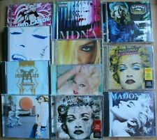 MADONNA INSTANT CD COLLECTION 11 x ORIGINAL UK CD ALBUMS IMMACULATE/CANDY/TRUE